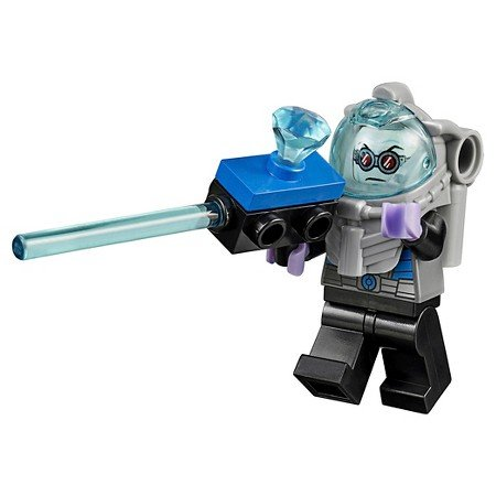 GENUINE-Lego-DC-Super-Heroes-MR-FREEZE-Minifigure-Bagged-Split-from-10737-Set