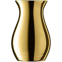 Idea Regalo - LSA Flower Metallic mini Posy vaso H10CM oro