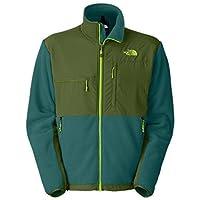 Uomo The North Face Denali-Giacca in pile con cerniera (R Balsam Scallion, Tenda da campeggio, colore: blu/verde, taglia: XL