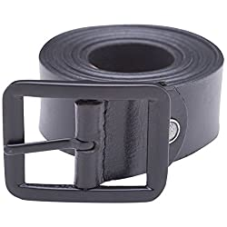 Spykar Mens Leather Black Belts