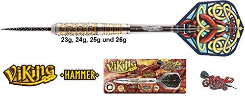 Shot! Viking Hammer FW Darts 90{e34b69b3b2e63d269aeb2d4263af90fded0c7b05bb7a83f8972567b89daaf0a1} Tungsten Steeldarts 26g