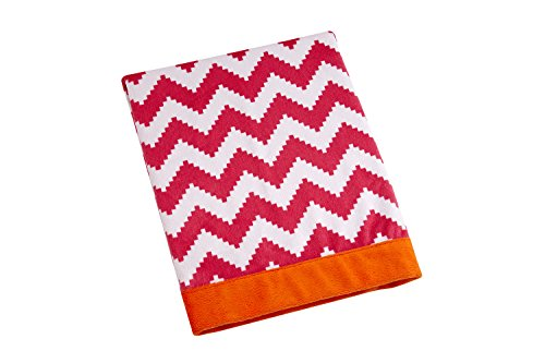 happy-chic-couverture-jonathan-adler-party-elephant-pour-bebe-rose-orange-blanc