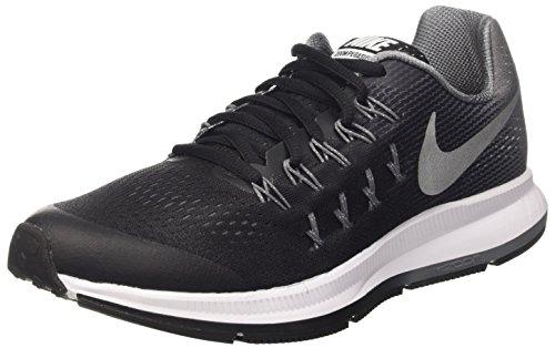 Nike - Blck / Mtllc Slvr-cl Gry-wlf Gry, Scarpe sportive Bambino Nero (Negro (Blck / Mtllc Slvr-Cl Gry-Wlf Gry))