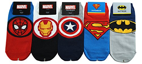 DASOM Superhelden und Schurken Held Supertheroes Socken