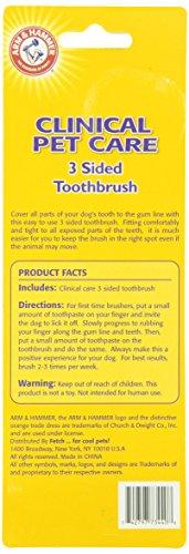 Arm & Hammer Zahnbürste für Hunde, dreiseitig - 2