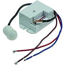 Anschluss an 230V VBLED© LED PIR Sensor//Bewegungs-Melder 180° Infrarot bis 12m