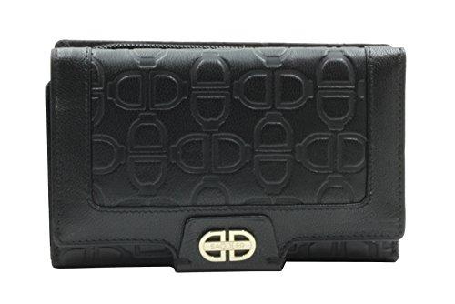 billetera-monogramada-triple-pliegue-de-14cm-saddler-negro-de-cuero-y-monedero-con-cremallera-de-3-v