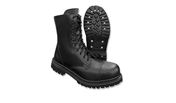 Surplus Schuhe 10 Loch Undercover Stiefel, Color:schwarz;Größe:5