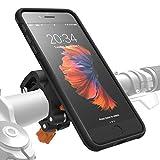 MORPHEUS LABS M4s Handyhalterung Fahrrad iPhone 8 Plus / 7 Plus Fahrradhalterung Halterung & iPhone 8 Plus / 7 Plus Hülle Rad, Bike-Kit schwarz (auch für iPhone 6 PLUS eingeschränkt nutzbar*)