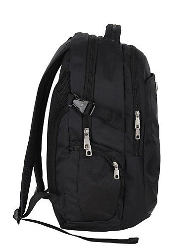 GXS OIWAS Herren 37L Computer-Rucksack Tasche für 15,6-Zoll-Laptop Black