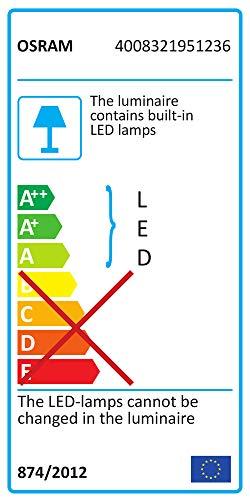 Osram LED-Lichtleiste, LEDstixx, silber, flexible Stablampe für Sideboards, etc., batteriebetrieben, mit Klebepat, 22 cm – Länge, Gehäuse aus Aluminium - 2