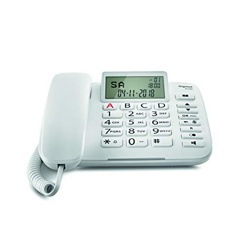Gigaset DL380. Teléfono Fijo Cable; Pantalla Alta