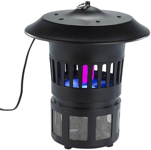 Exbuster Insekten-Falle: UV-Insektenvernichter IV-560, Lichtsensor, Ansaug-Ventilator, 15 Watt (Mücken-Falle)