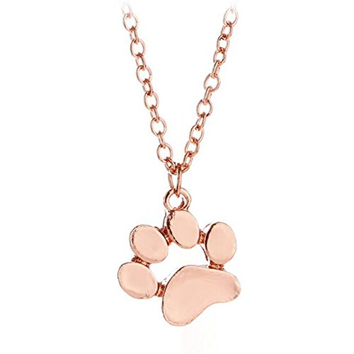 Wansan collana pendente, artiglio gatto in oro rosa, gioielli per donna, regali di san valentino, regalo di natale