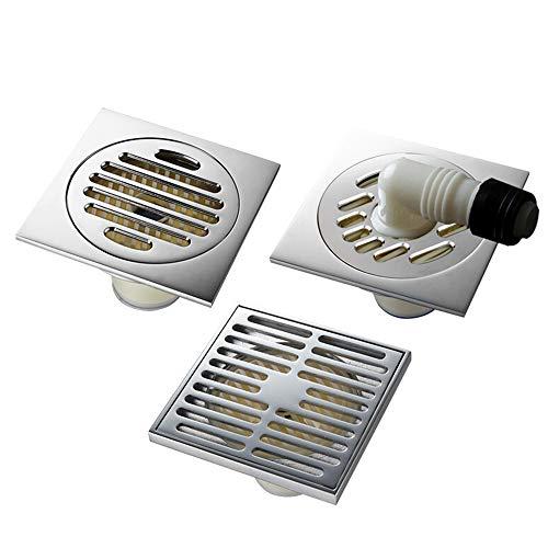 Floor drain Scarico del pavimento- Cucina A Pavimento Scarico Doccia  Copertura Anti-odore Anti-pest Block Pacchetto Accessori Da Bagno  Combinazione