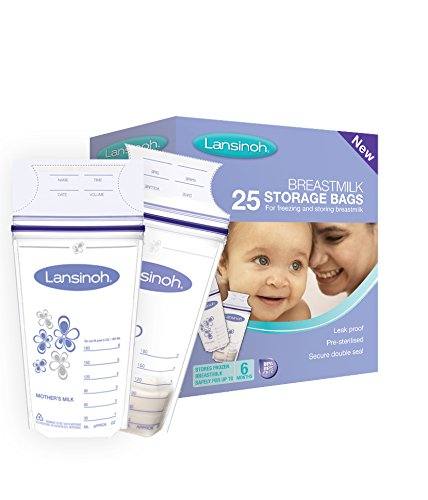 Lansinoh Breastmilk Storage Bags (Pack of 25) 41NeYHsFpvL