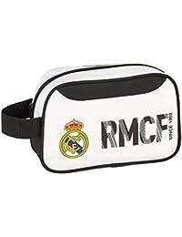 Real Madrid 811854234 2018 Bolsa de Aseo 22 cm, Blanco