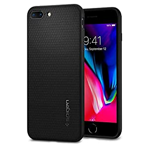 Spigen iPhone 7 Plus Case, [Liquid Armor] Soft [Black] Premium Flexible Soft TPU Case for iPhone 7 Plus (2016) - (043CS20525)