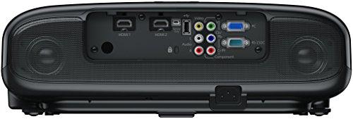 Bild 6: Epson EH-TW6100 3D Heimkino 3LCD-Projektor (Full HD 1080p, 2.300 Lumen Weiß & Farbhelligkeit, 40.000:1 Kontrast, 2x HDMI (1x MHL), inkl. 1x 3D Brille) schwarz