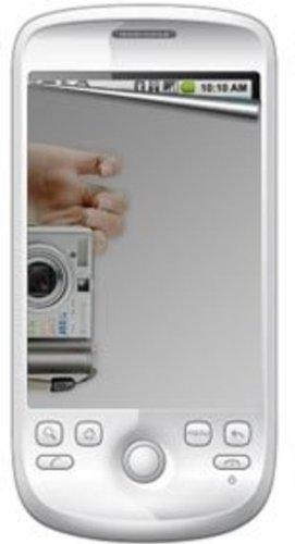 Amzer Verspiegelte Displayschutzfolie für T-Mobile myTouch 3G / HTC Magic (inkl. Reinigungstuch) 3g Htc Magic