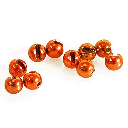 taimen Fliegenbinden Wolfram Schlitz Bright Perlen Mehrfarbig Orange (10) 4.0 mm (Tying Fly Beads Wolfram)