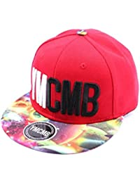 Snapback Ymcmb Rouge et visière cosmos - Mixte