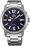 Orient FEM7J007D9 - Reloj de Pulsera para Hombre, Azul/Metálico