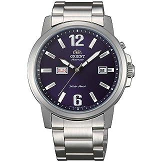 Orient FEM7J007D9 – Reloj de Pulsera para Hombre, Azul/Metálico