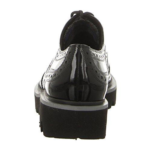 Högl  4-112527-0100, Chaussures de ville à lacets pour femme Noir