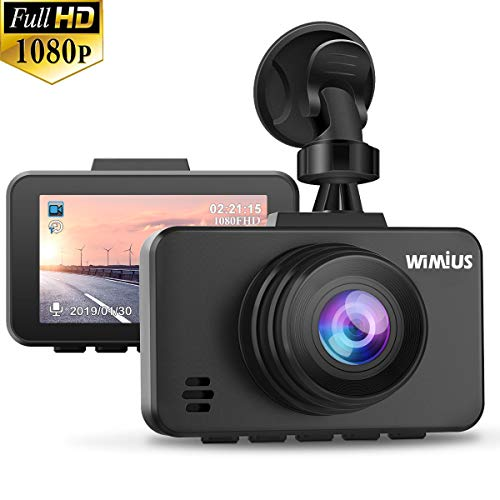 Wimius Dash Cam Per Auto Fhd 1080p 24 Mini Telecamera Per Auto