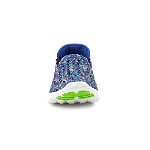 Heavenly Feet , Mocassins pour femme Bleu