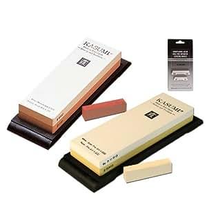 schleifstein set hilfe kasumi damast messer 240 1000 3000 8000 k che haushalt. Black Bedroom Furniture Sets. Home Design Ideas