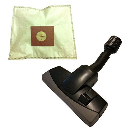 20 sacchetti per aspirapolvere + spostamento bare Universal in tessuto non tessuto con ugello mobili protezione per Arc En Ciel Boosty 1400 W
