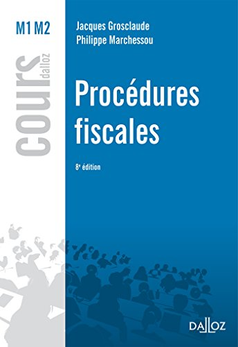 Procdures fiscales - 8e d.