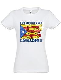 Urban Backwoods LLIBERTAT Catalonia T-Shirt – Independence Independencia la Catalogne Catalan catalane Socialismo Comunismo… Hc8LntP
