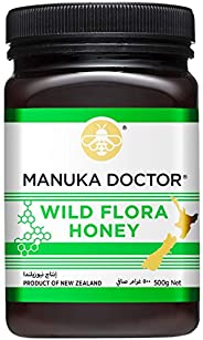 Manuka Doctor Wild Flora Honey 500 gms from New Zealand