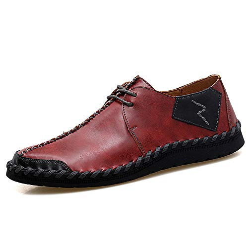 Men es Light Soles Microfiber Spring/Summer/Fall Comfort Sneakers Slip Resistant Loafers & Slip-Ons Driving Shoes,B,41 Flats Loafers Slip