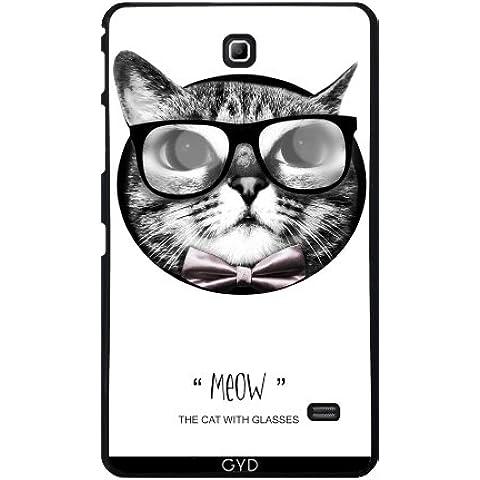 Funda para Samsung Galaxy Tab 4 (7 pulgadas) - El Gato Con Gafas by Julien Kaltnecker