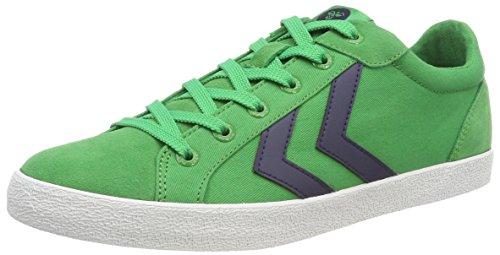 Hummel Unisex-Erwachsene Deuce Court Summer Sneaker, Grün (Fern Green), 44 EU