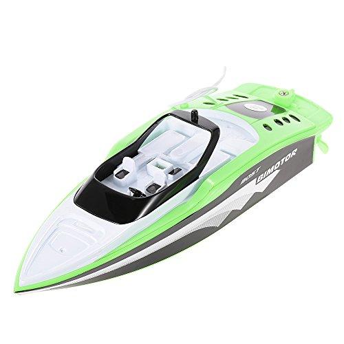 e Spielzeug 3392M Portable Micro RC Racing Boot Fernbedienung Speedboat Boy Geschenk Kid Spielzeug ()