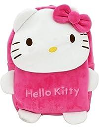 Pandora Hello Kitty Soft Velvet Backpack Bags for 2 to 5 Years Kids for  School  842fc9c275