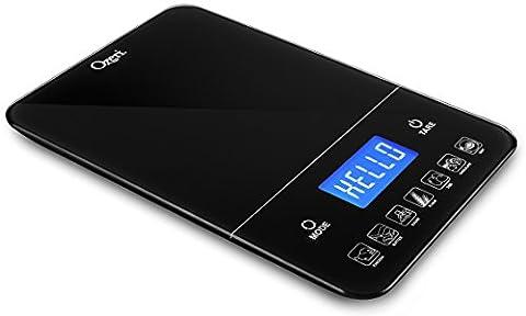Balance de cuisine numérique 10kg TouchIII d'Ozeri,