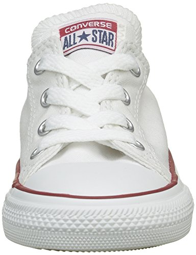 Converse Chuck Taylor All Star Wash Neon Ox, Baskets mode mixte enfant Blanc