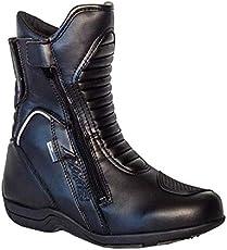 AXXIS AX-BT1 Touring Unisex-Stiefel, kurz, Schwarz 43 EU Schwarz
