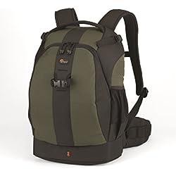 Lowepro Flipside 400 AW - Mochila para cámaras fotográficas Canon 550D, 500D, 1000D, Nikon D3000, Samsung NX10, PL1, Panasonic G2 y Sony Alpha A450, color verde oscuro