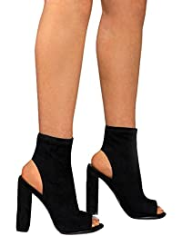 fangcheng Scarpe Donna Tacco Alto Sandali Sexy Eleganti Estive Scarpe Moda  Casual Open Toe Donna con 99b9cf220ee