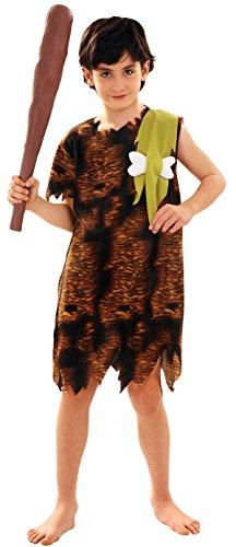 Imagen de disfraz de cavernícola para niño en varias tallas