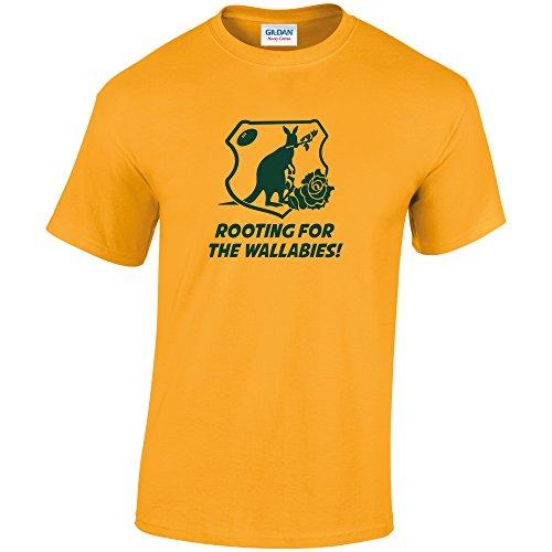 Pineapple Joe's Herren T-Shirt Yellow/Gold