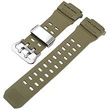 8f45eb636e37ab Haodasi Sangle de bande de bracelet de rechange Bracelet Ceinture pour Casio  G-Shock GW