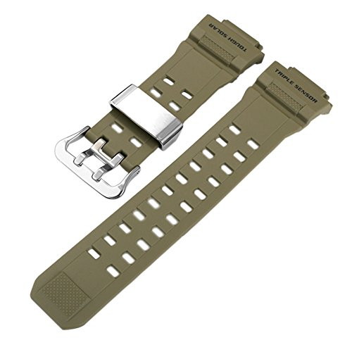 Ersatz Band G-shock-uhr (Haodasi Ersatz Uhrenarmband Uhrarmband Gurt Armband Band Watchband für Casio G-Shock GW-9400-3)